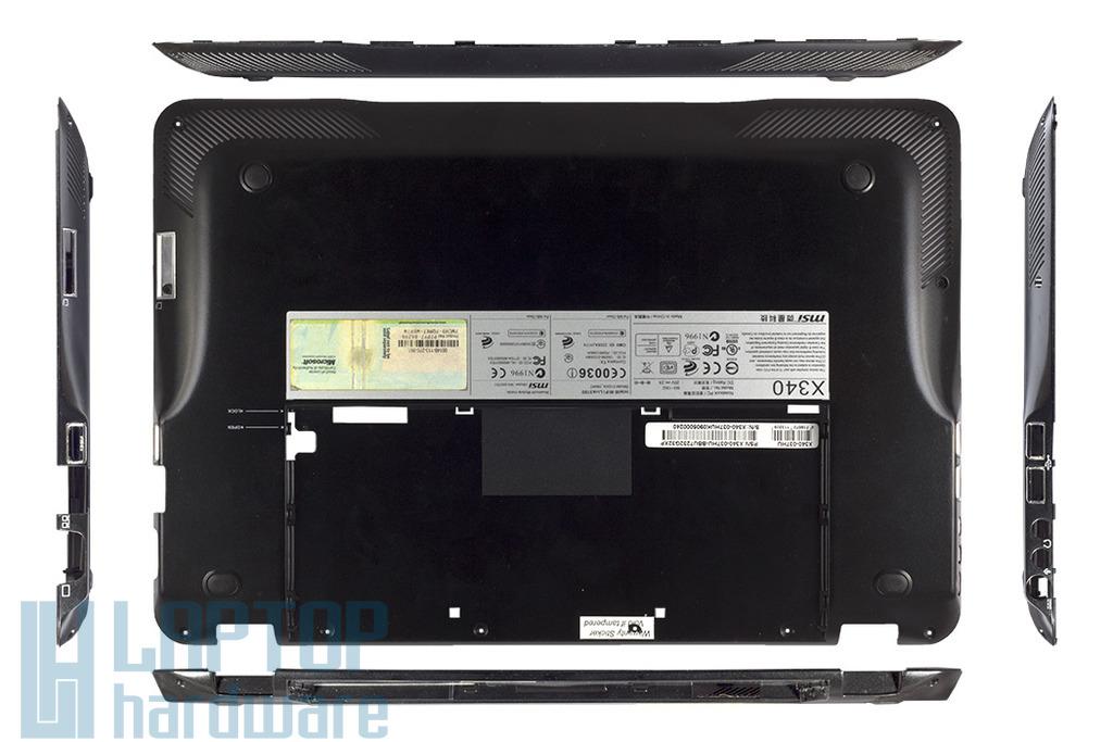 MSI X340, MS-1352 laptophoz használt alsó fedél, 307-351D212-W28