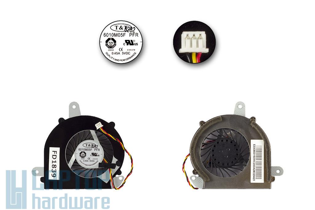 MSI X370, X400, X410 használt laptop hűtő ventilátor 6010M05F PFR, E33-0800270-MC2