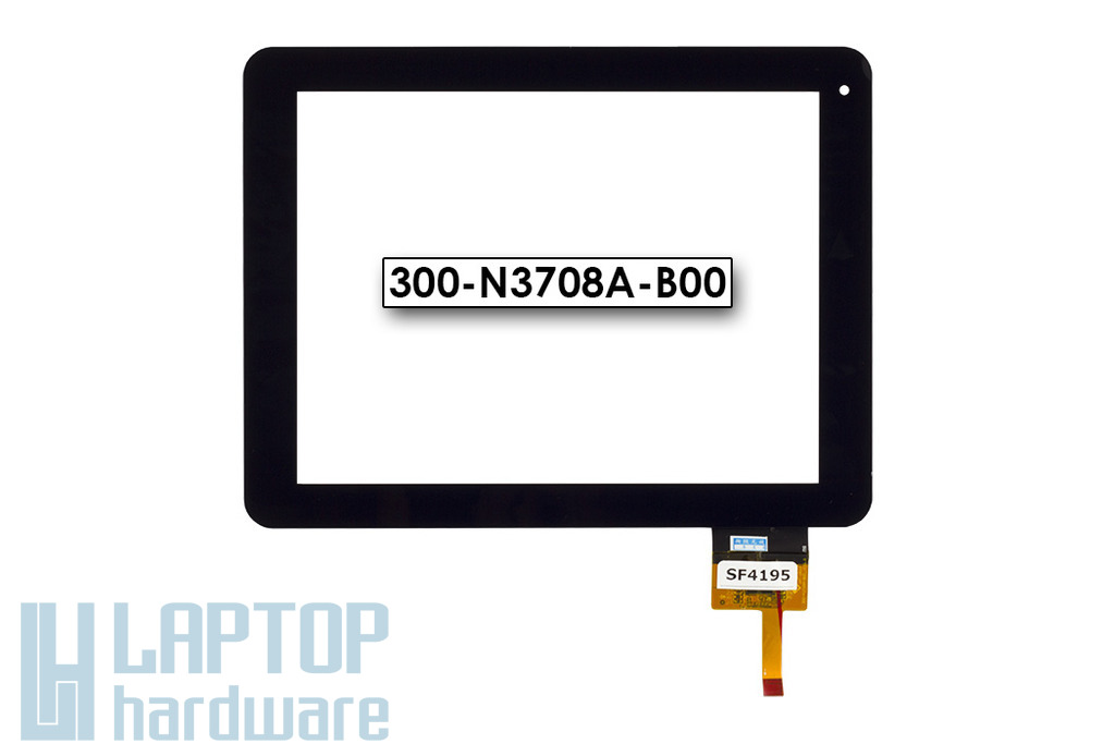 Érintő panel, touchscreen MyAudio tablethez (300-N3708A-B00)