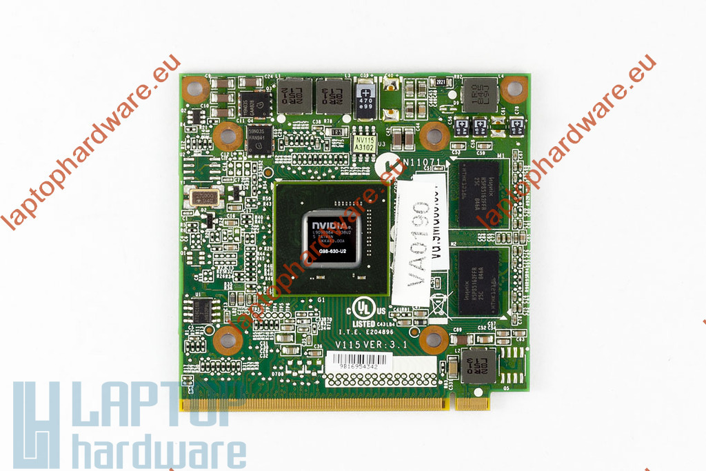 NVIDIA GeForce Go9300M GS 256MB használt MXM2 video kártya
