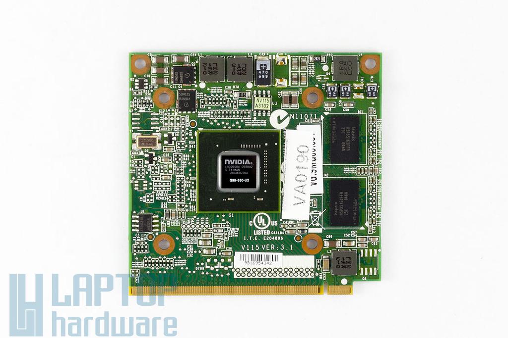 NVIDIA GeForce Go9300M GS 256MB Gyári Új MXM2 video kártya, VG.9MG06.001