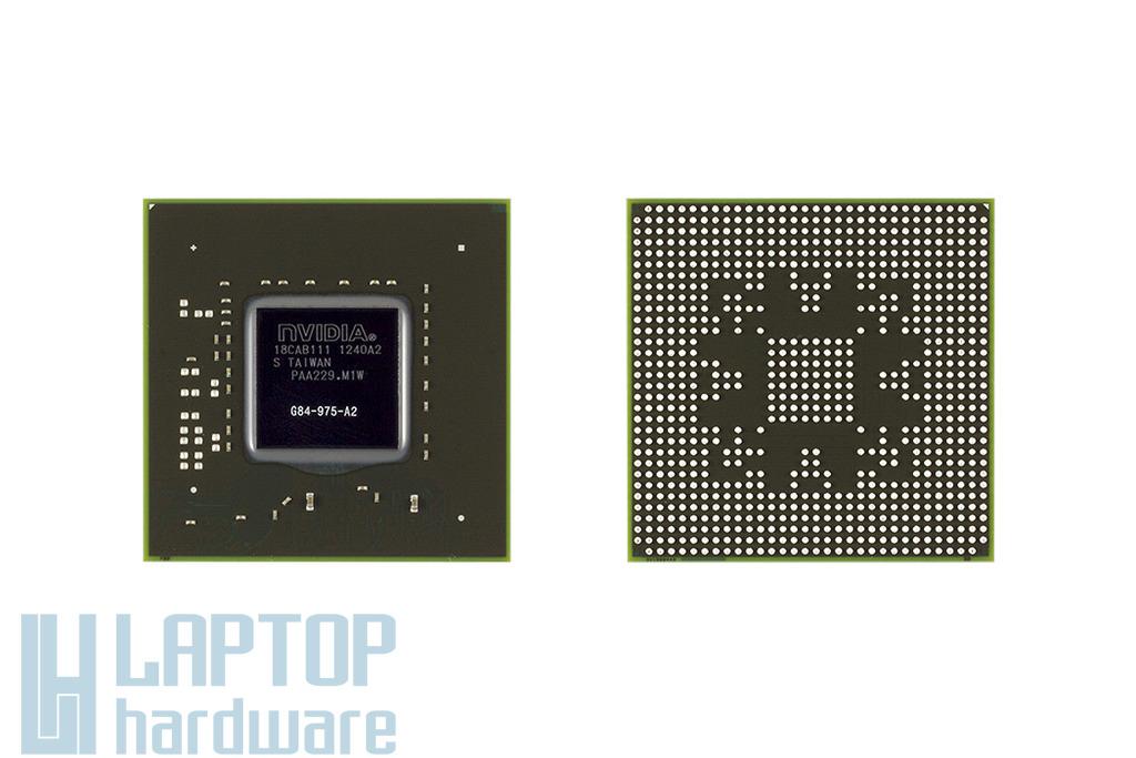 NVIDIA GPU, BGA Video Chip G84-975-A2 64bit csere, videokártya javítás 1 év jótálással