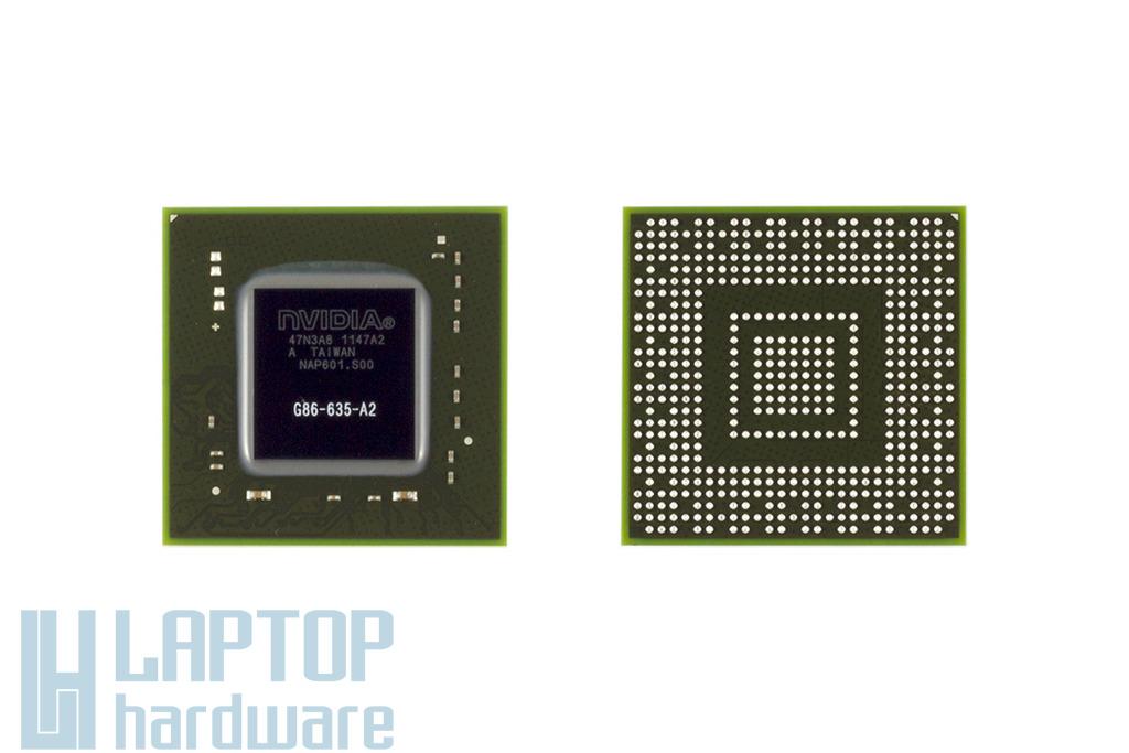 NVIDIA GPU, BGA Video Chip G86-635-A2 csere, videokártya javítás 1 év jótálással