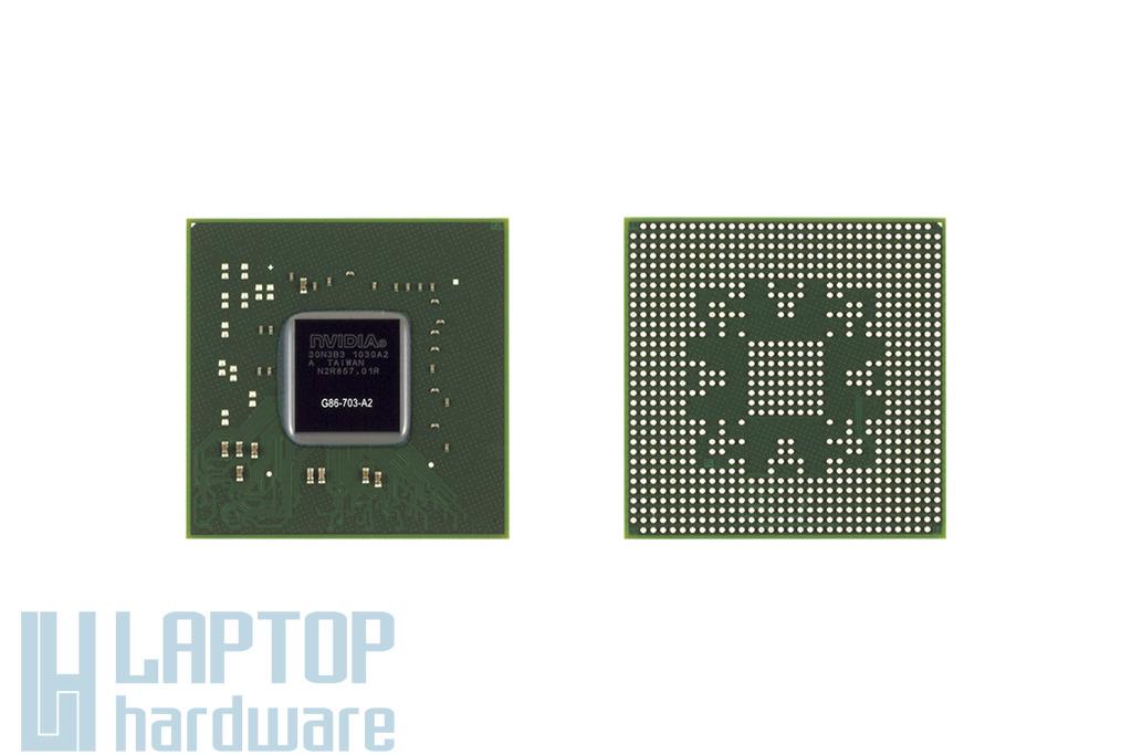 NVIDIA GPU, BGA Video Chip G86-703-A2 csere, videokártya javítás 1 év jótálással