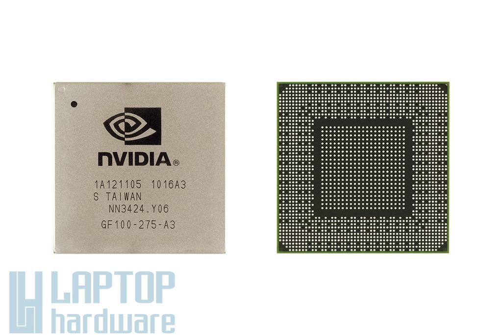 NVIDIA GPU, BGA Video Chip GF100-275-A3 csere, videokártya javítás 1 év jótálással