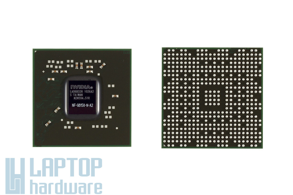 NVIDIA GPU, BGA Video Chip NF-G6150-N-A2 csere, videokártya javítás 1 év jótálással