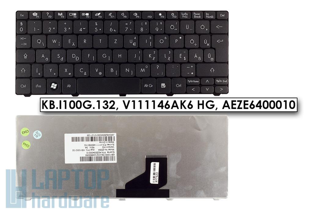 Packard Bell DOT S, Gateway LT28, LT40 gyári új magyar laptop billentyűzet (KB.I100G.132)