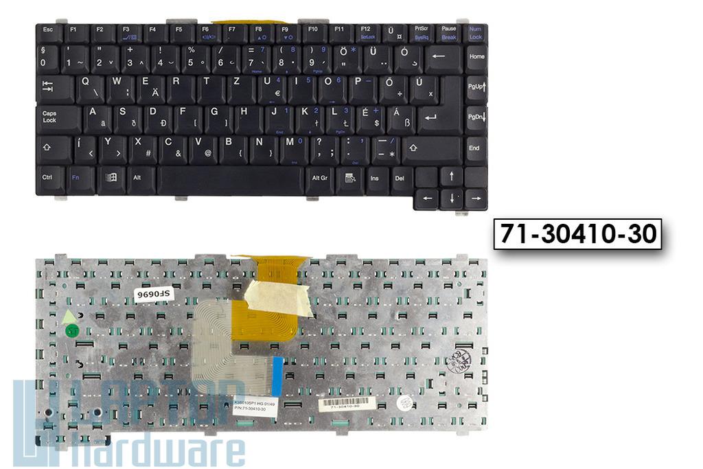 Packard bell Easy Note VX, Gericom Winbook A360 használt magyar laptop billentyűzet (71-30410-30)