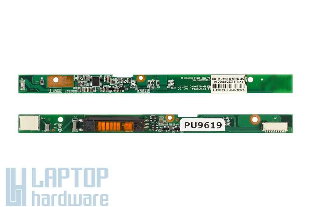 Packard Bell EasyNote MV35-204D laptophoz használt Kijelző Inverter (412804300010)
