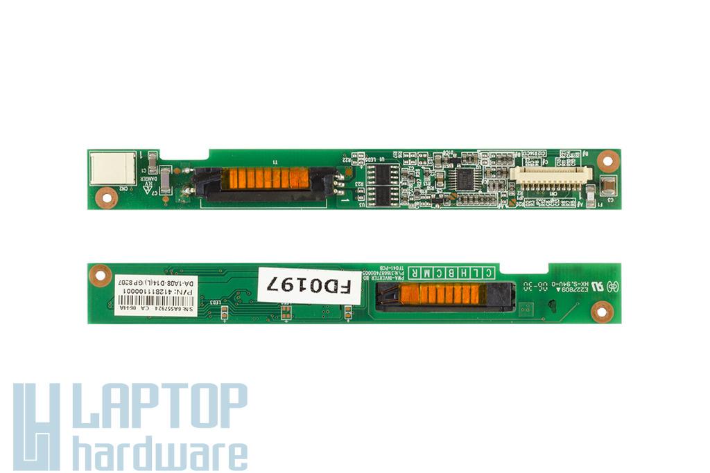 Packard Bell EasyNote SW51 laptophoz használt Kijelző Inverter (DA-1A08-D14)