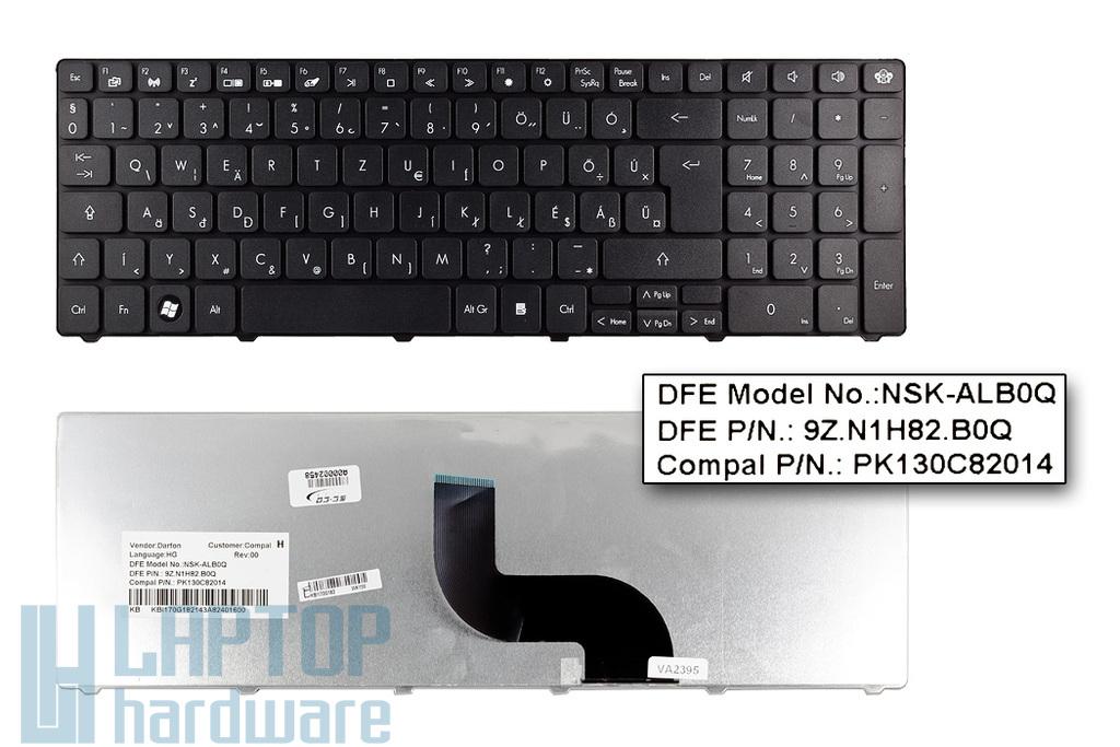 Packard Bell EasyNote TK81, TM81, TM85 gyári új magyar laptop billentyűzet, KB.I170G.182