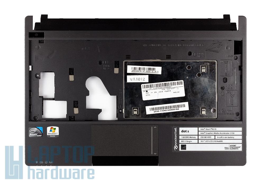 Packard Bell PAV 80 laptophoz használt szürke felső fedél touchpaddal (AP0FC000750)