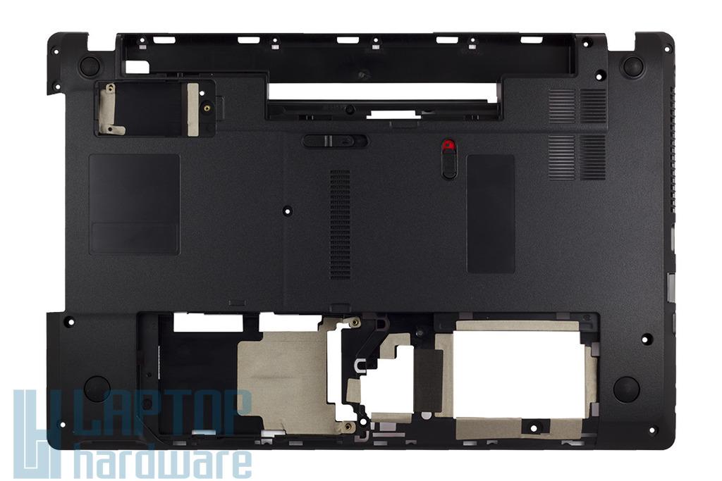 Packard Bell TM81, TM85 gyári új alsó fedél, bottom case, 60.WJ802.002