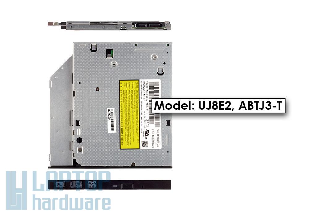 Panasonic gyári új Ultra Slim 9.5mm laptop DVD Író (UJ8E2)