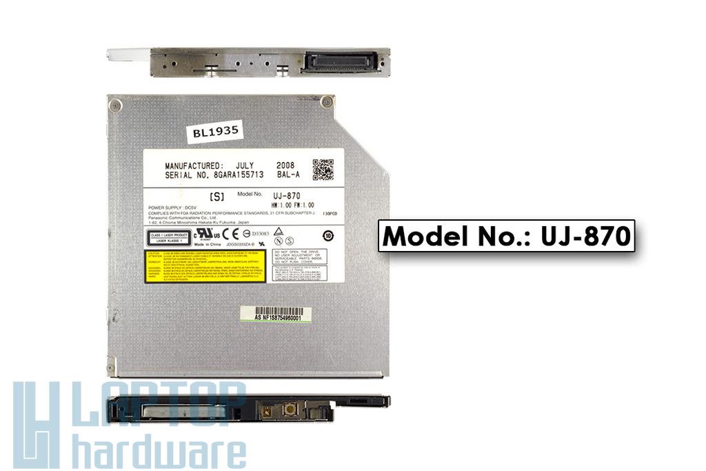 Panasonic IDE DVD Író UJ-870 használt