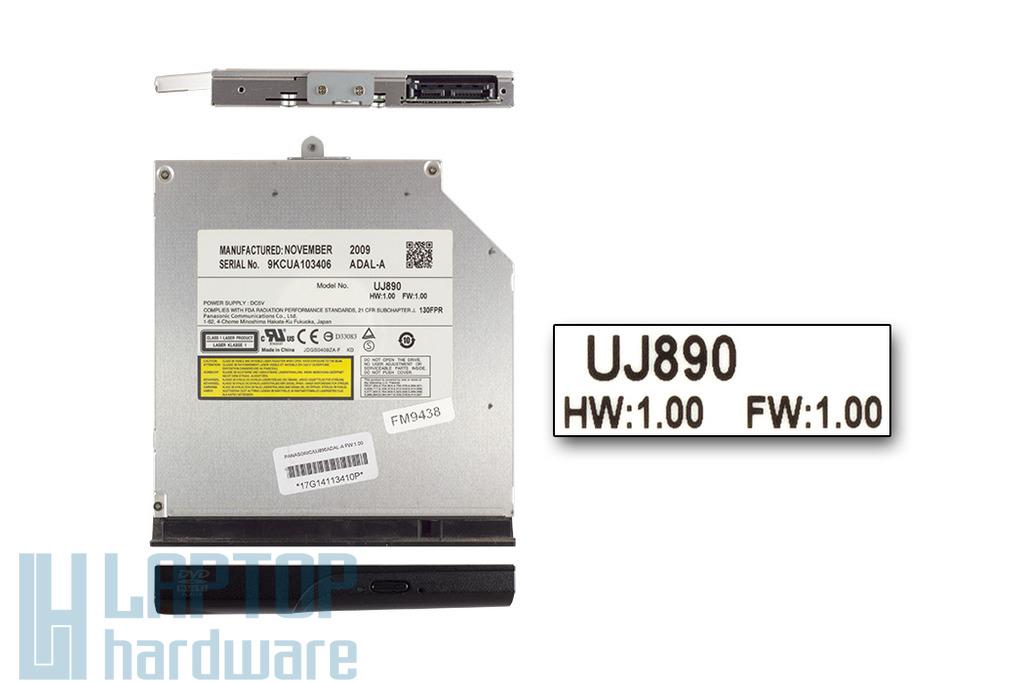 Panasonic Matsushita használt SATA laptop DVD Író(UJ890)
