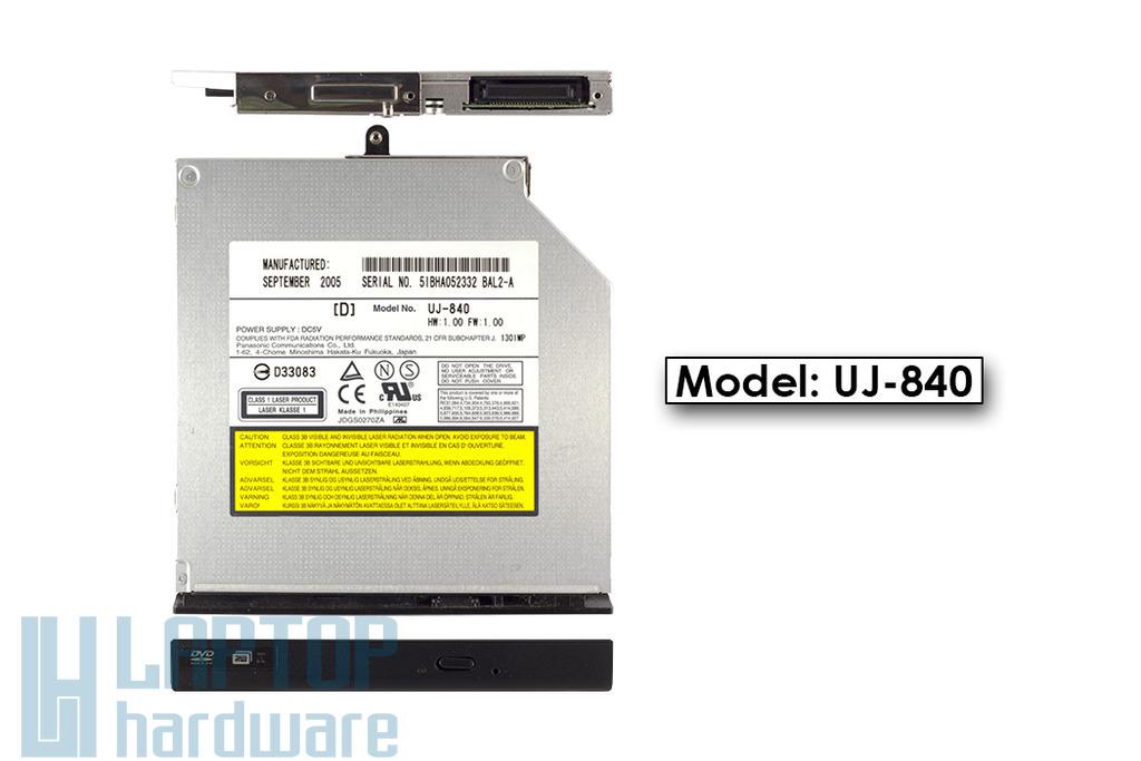 Panasonic Matsushita IDE használt laptop DVD Író UJ-840