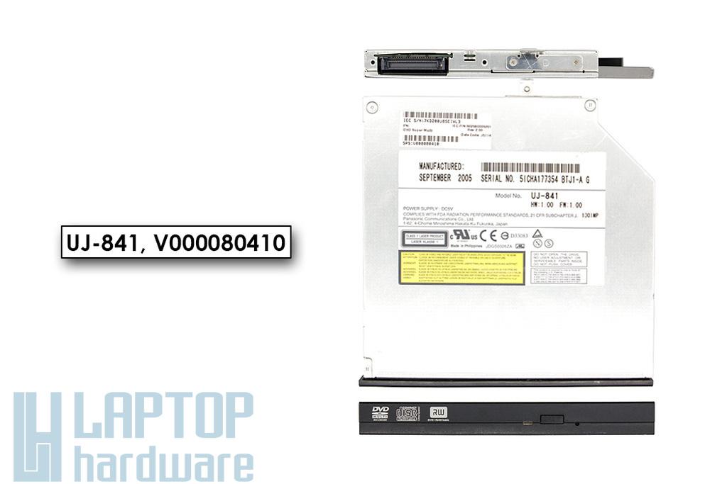 Panasonic UJ-841 használt IDE (PATA) DVD író előlappal Toshiba laptopokhoz (V000080410)