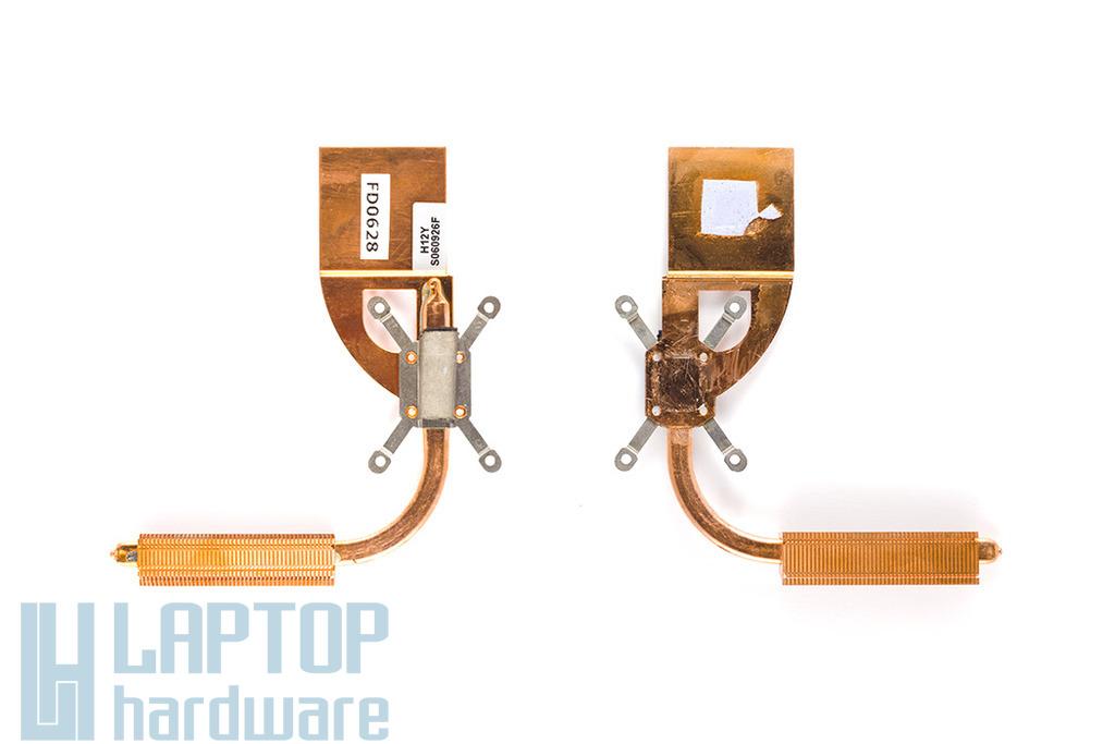 Philips Freevents X53, X55 használt laptop hőelvezető cső, heat pipe (H12YS061015F)