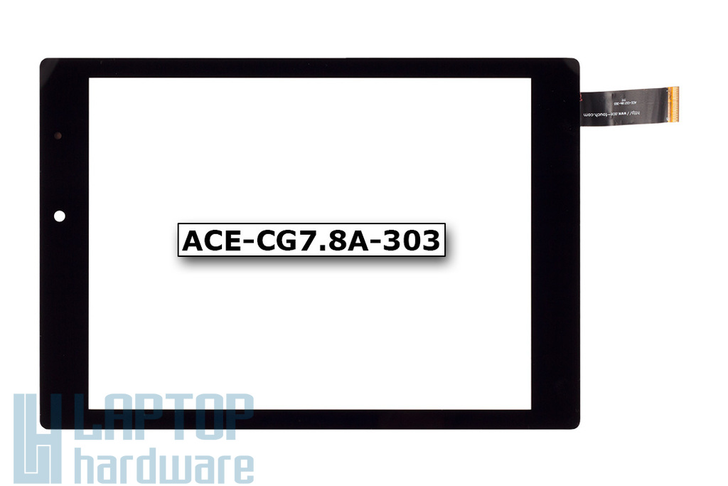 Érintő panel, touchscreen Prestigio MultiPad 4 Diamond 7.85 tablethez (ACE-CG7.8A-303)