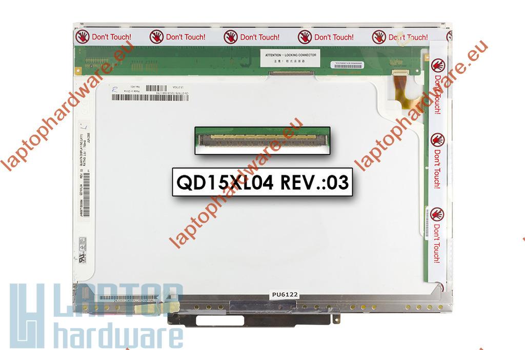 Quanta QD15XL04 15'' XGA gyári új matt laptop kijelző