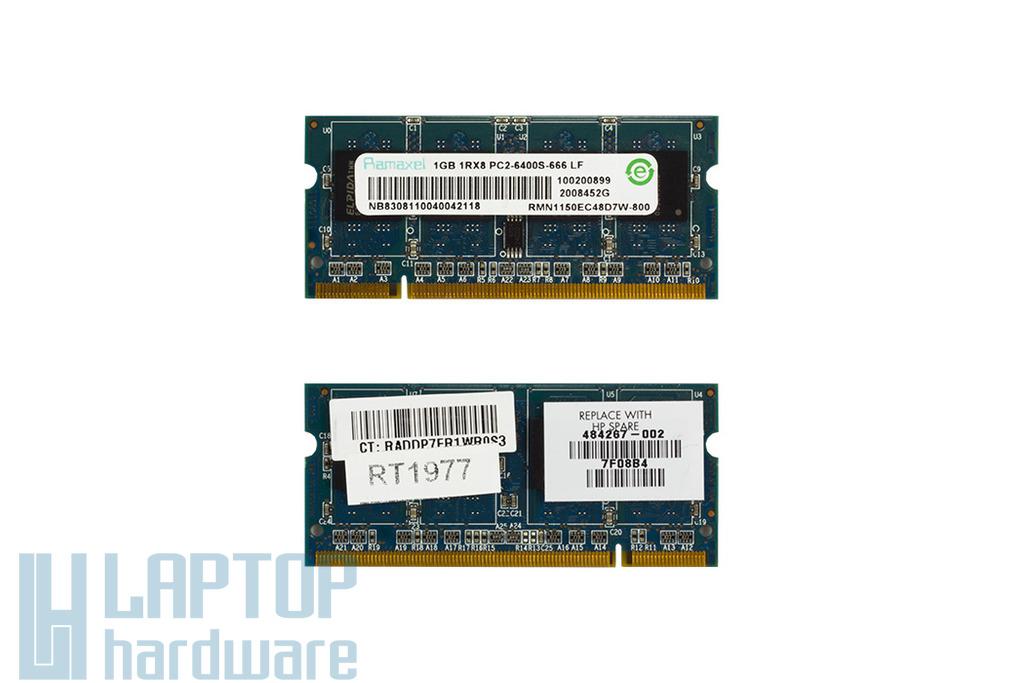 Ramaxel 1GB DDR2 800MHz használt memória HP-Compaq laptopokhoz