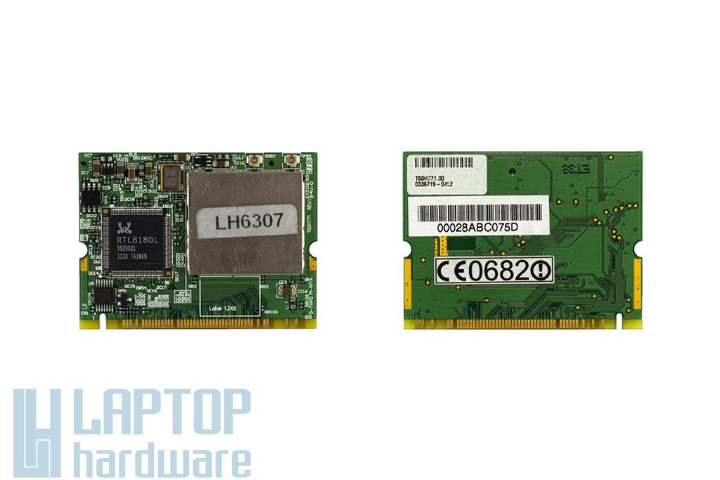 Realtek RTL8180L használt Mini PCI laptop WiFi kártya