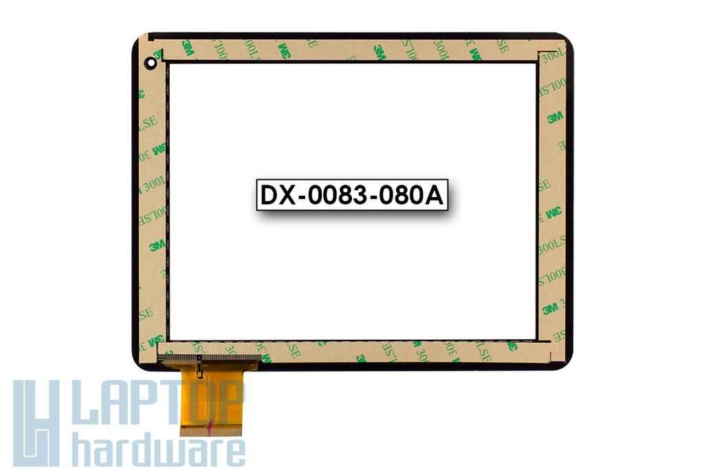 Érintő panel, touchscreen MyAudio tablethez (8'') (DX-0083-080A)