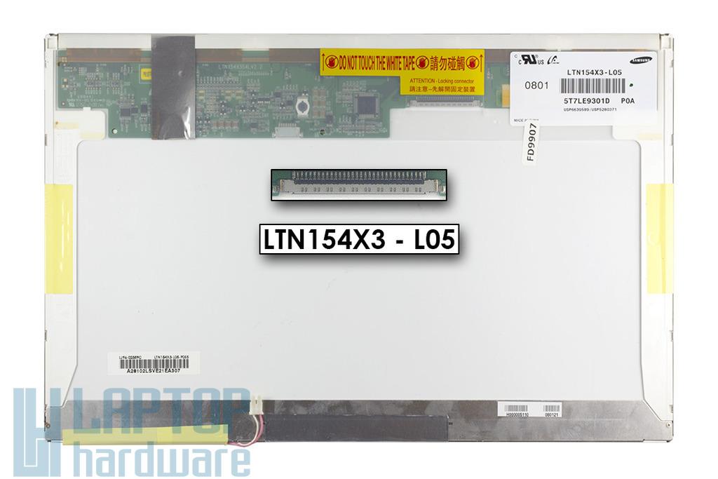 Samsung 15.4'' használt laptop kijelző, LTN154X3-L05