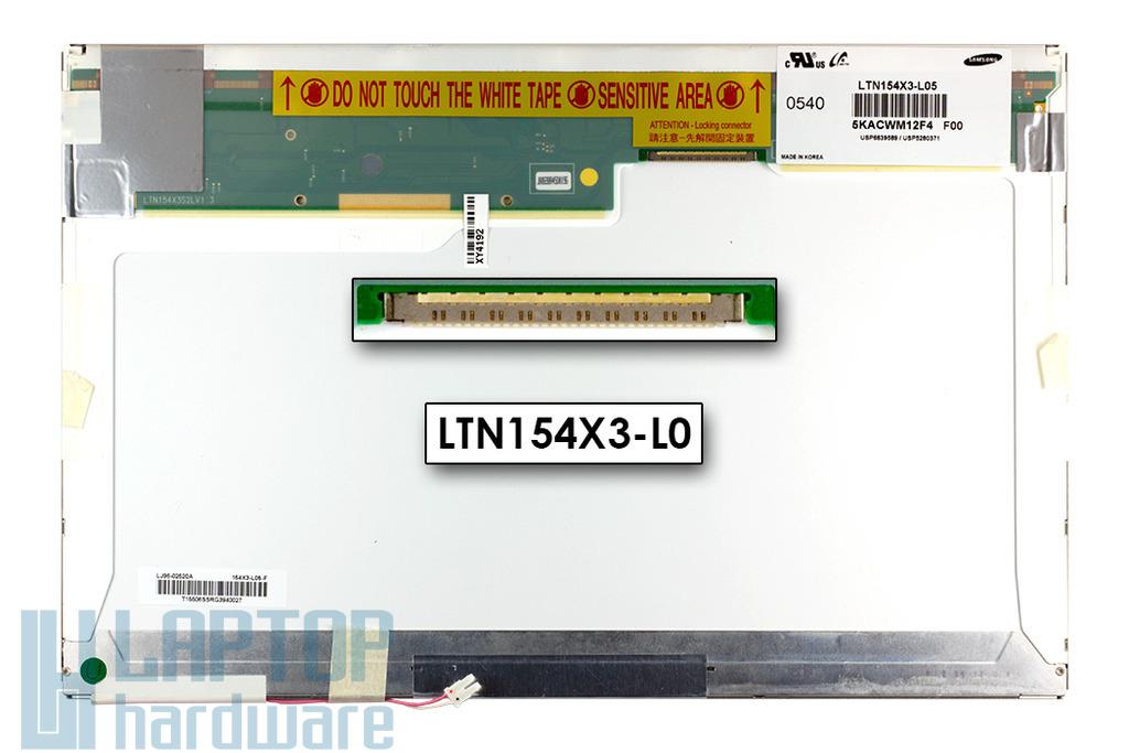 Samsung 15.4 inches LTN154X3-L05 használt matt kijelző