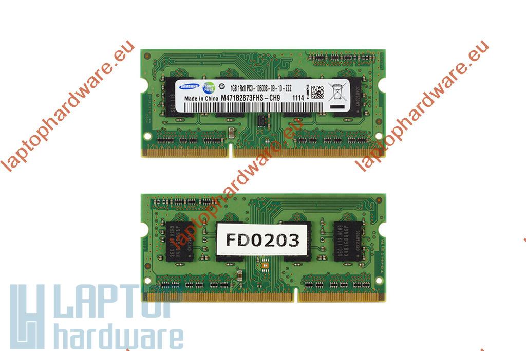1GB DDR3 1333MHz gyári laptop memória