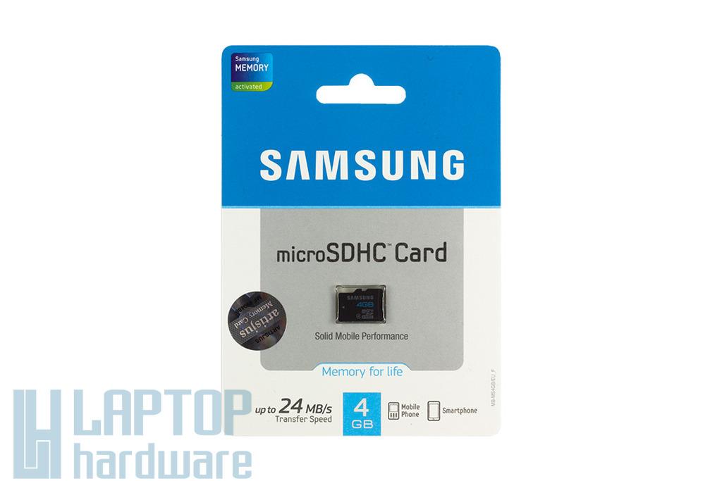 Samsung 4GB Class 4 Micro SD kártya (MB-MS4GB-EU)