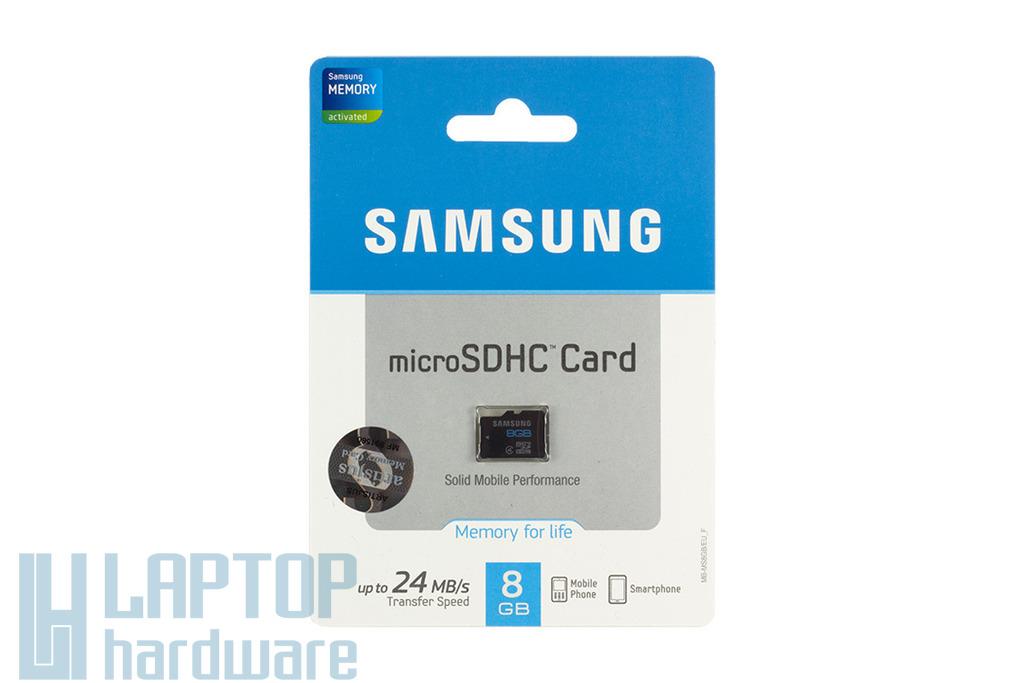 Samsung 8GB Class 4 Micro SD kártya (MB-MS8GB-EU)