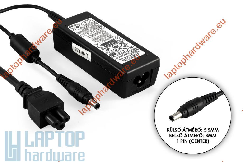 Samsung AD-4019 19V 2.1A 40W (center pin) használt laptop töltő (AD-4019S)