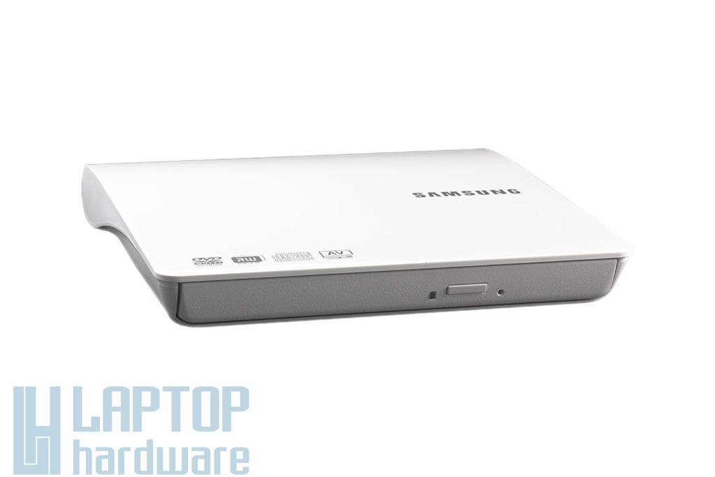 Samsung fehér SLIM USB DVD Író, SE-208DB/TSWS