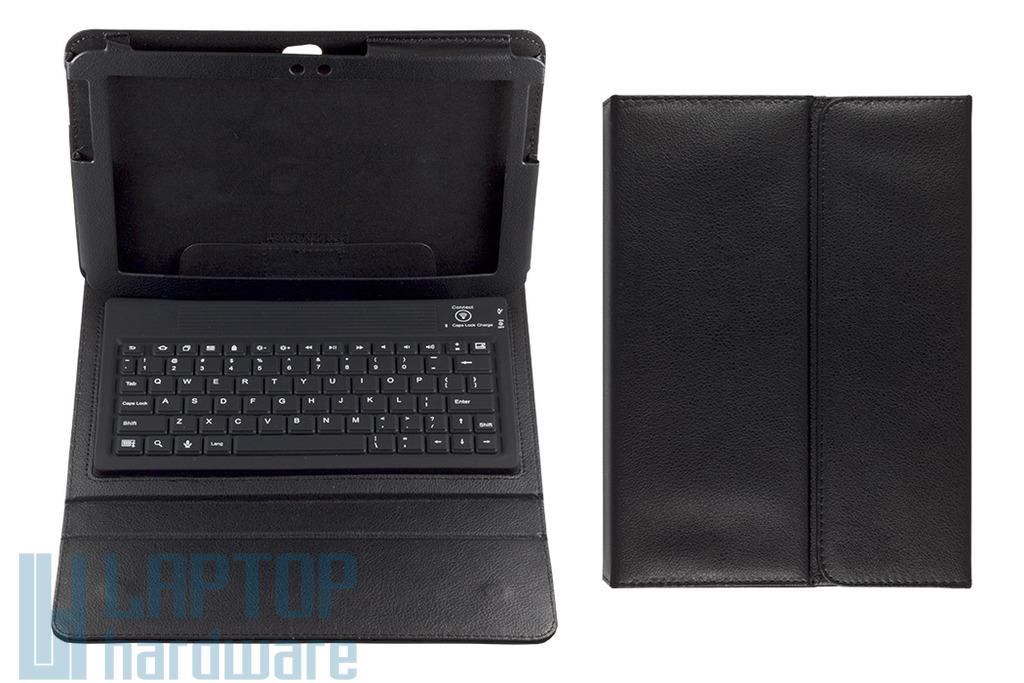 Samsung Galaxy TAB 2 fekete angol Bluetooth wireless billentyűzet, tokkal