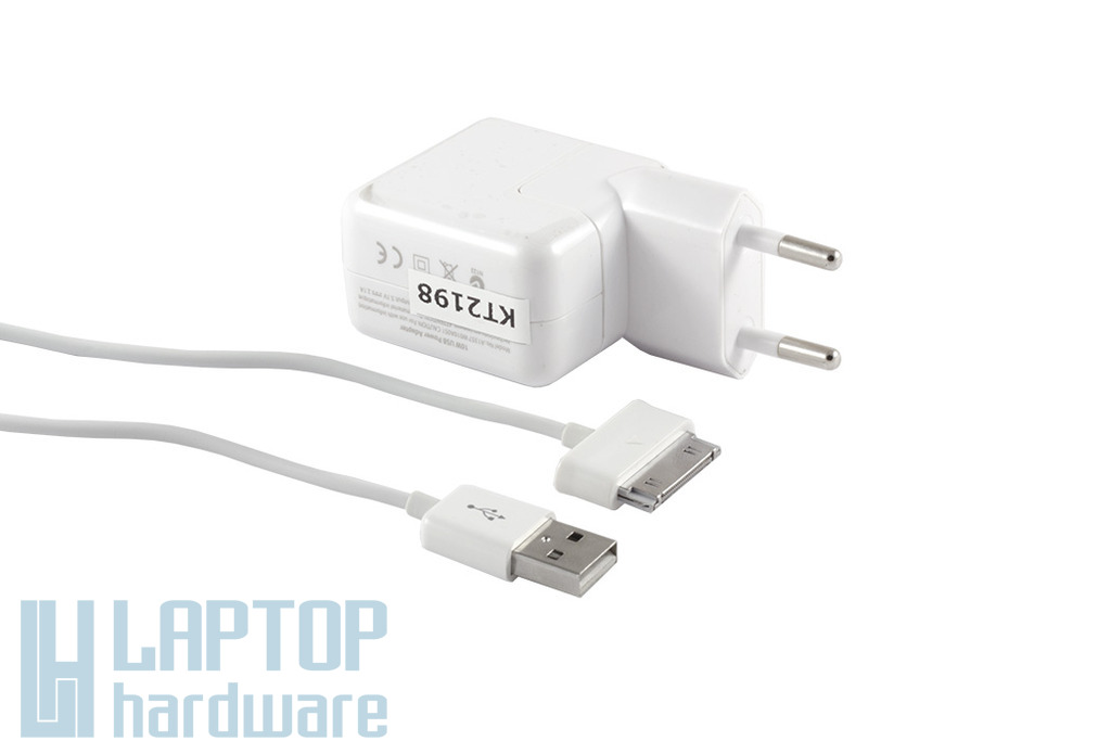 Samsung Galaxy Tab 2, Tab 3 5V 2A 10W USB helyettesítő új fehér tablet töltő