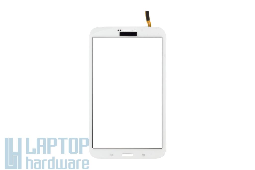 Érintő panel, touchscreen (fehér) Samsung Galaxy Tab 3 8.0 (T311) tablethez