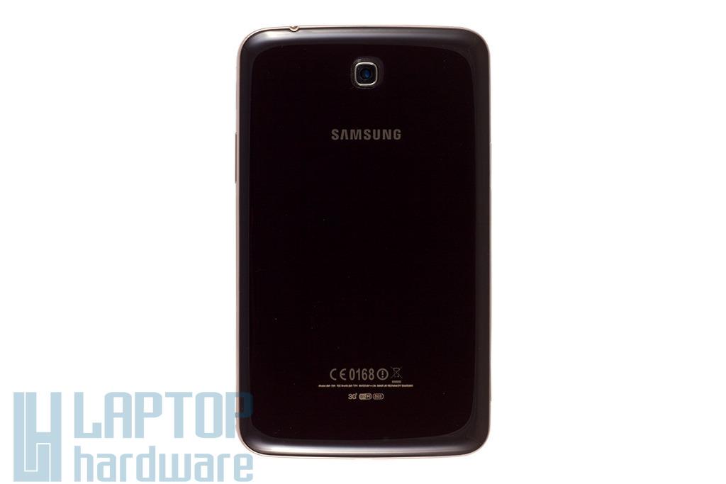 Samsung Galaxy Tab 3 gyári új bronz (barna) színű hátlap (GH98-28175B)