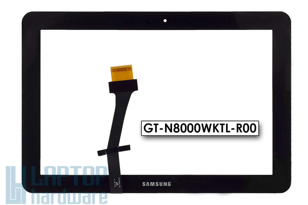 Érintő panel, touchscreen Samsung Galaxy Tab GT P7510 tablethez (GT-N8000WKTL-R00)