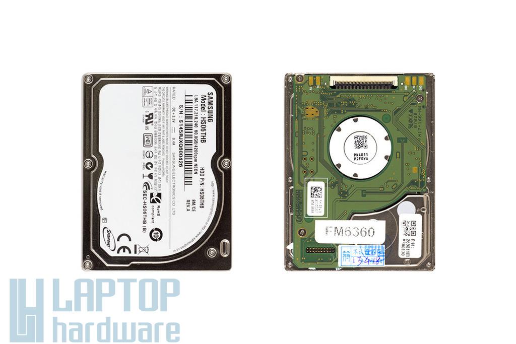 60GB 3600RPM 1.8'' ZIF PATA (Ultra ATA-100) gyári új laptop winchester, HDD