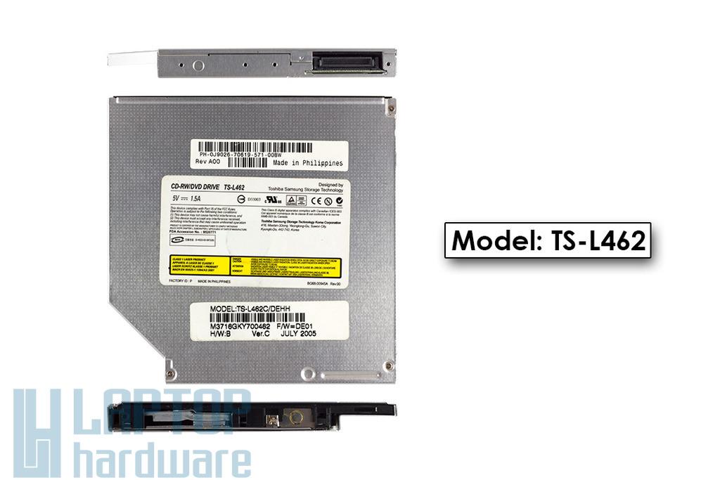 Samsung IDE használt laptop CD-RW/DVD-ROM író, TS-L462A