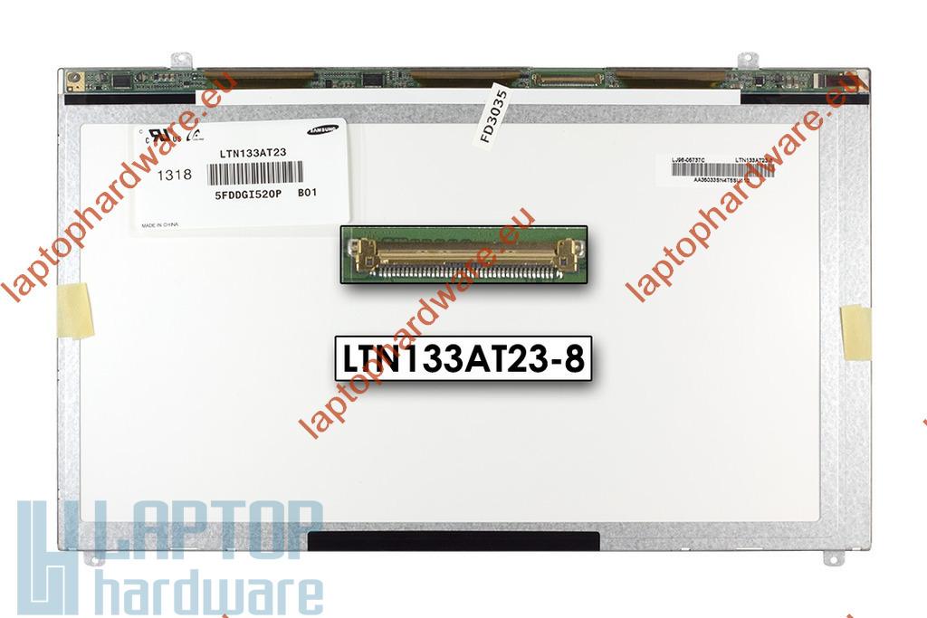Samsung LTN133AT23 C01 Slim LED bal gyári új matt laptop kijelző