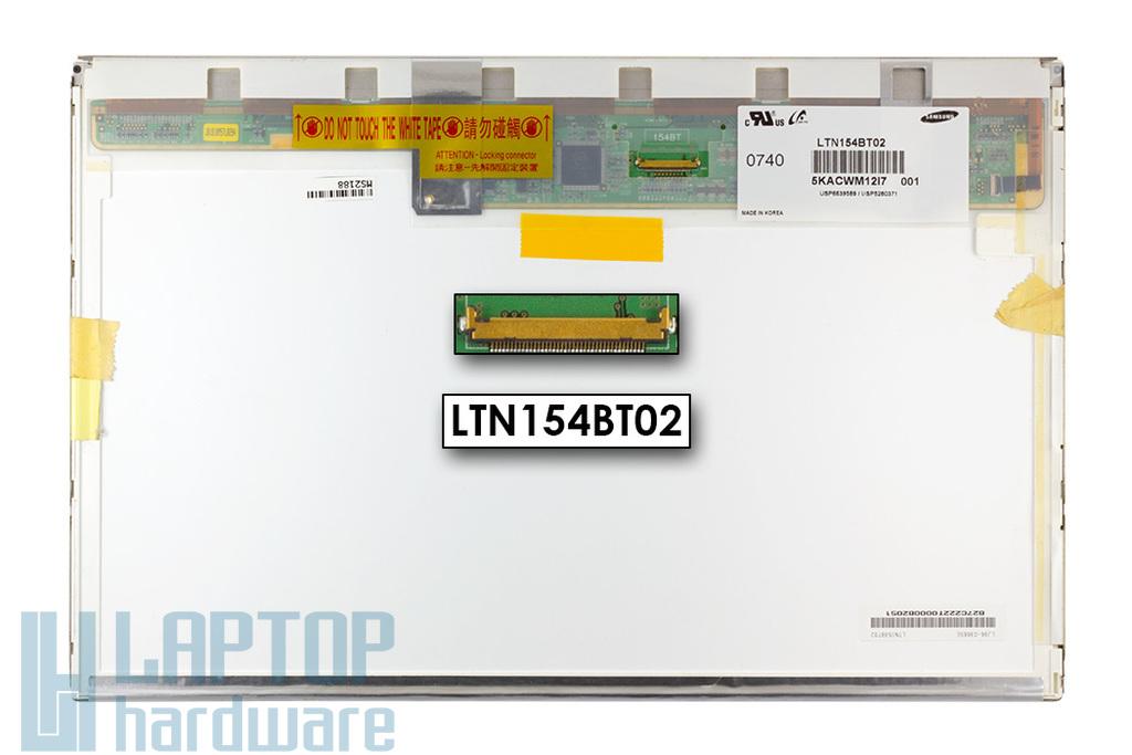 """Gyári új fényes 15.4'' (1440x900) LED kijelző Apple MacBook Pro 15"""" A1226 laptophoz (csatlakozó: 40 pin - bal)"""