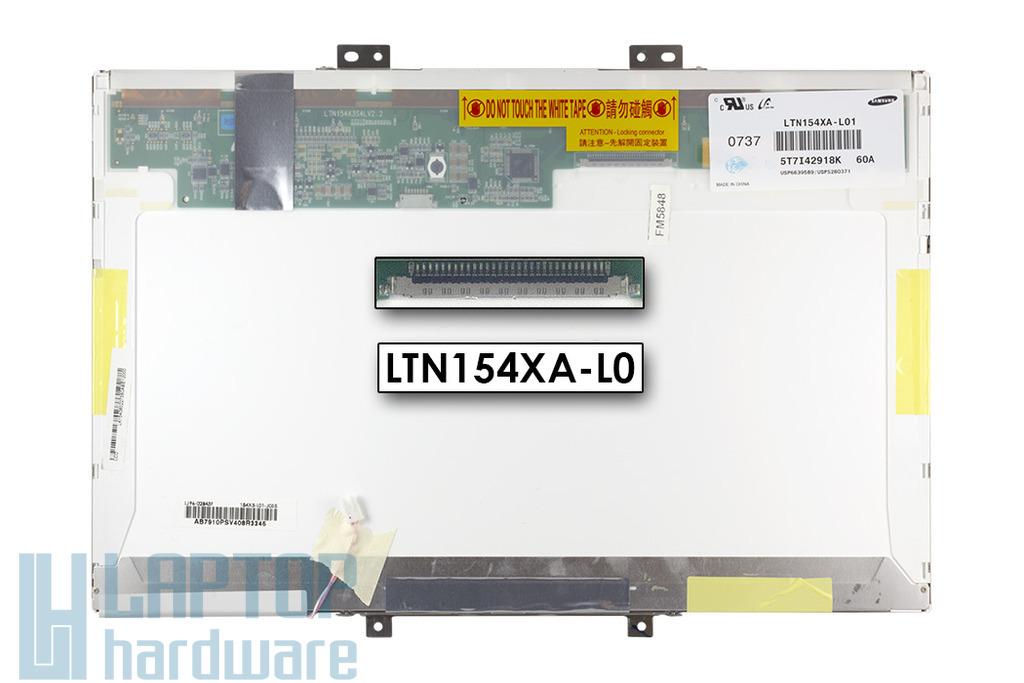 Samsung LTN154XA-L01 15.4 inch WXGA CCFL használt fényes laptop kijelző