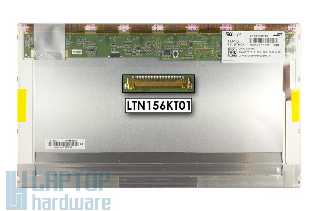 Samsung LTN156KT01 1600x900 használt WXGA++ LED matt laptop kijelző
