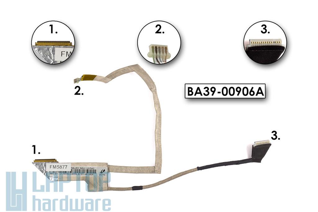 Samsung N140, N145, N150 laptop LCD kijelző kábel BA39-00906A