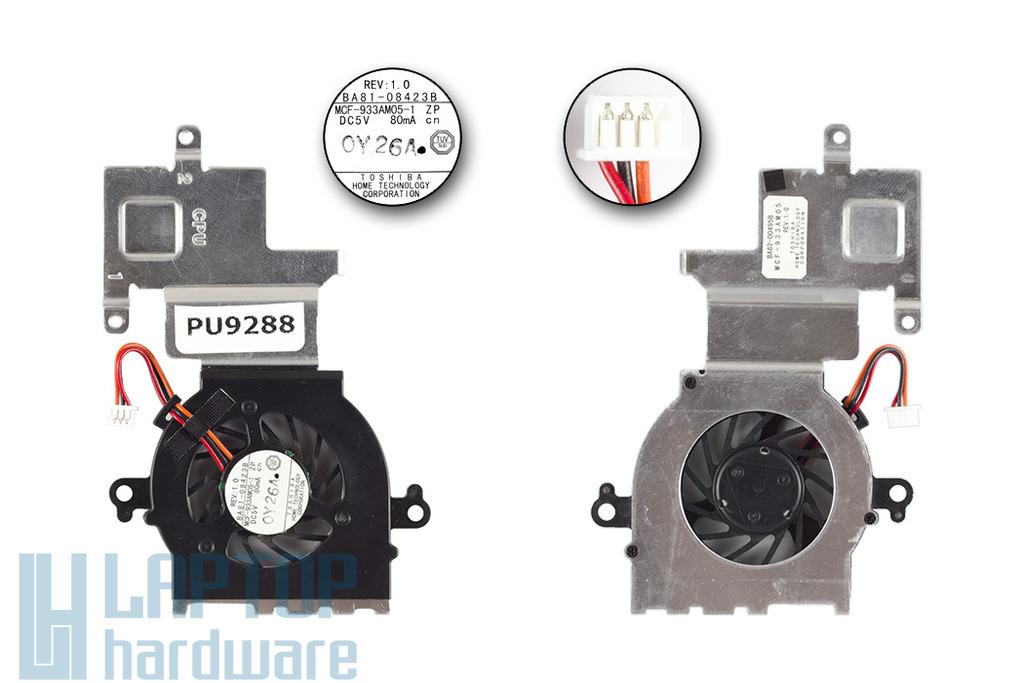 Samsung N145, N150 laptophoz használt komplett hűtő ventilátor egység (BA81-08423B)