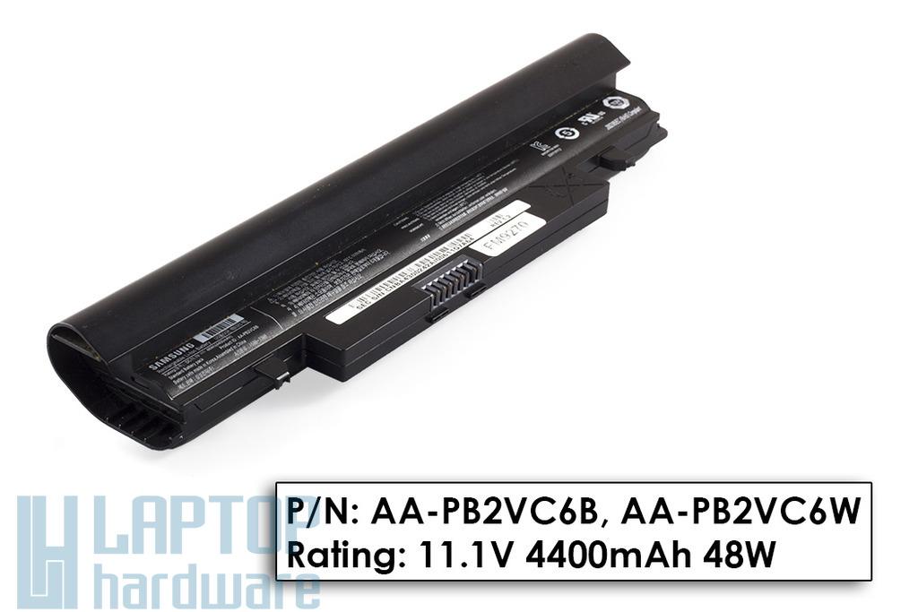 Samsung N148, N150, NP-N148, NP-150 használt 6 cellás fekete laptop akku/akkumulátor 50% (AA-PL2VC6B)
