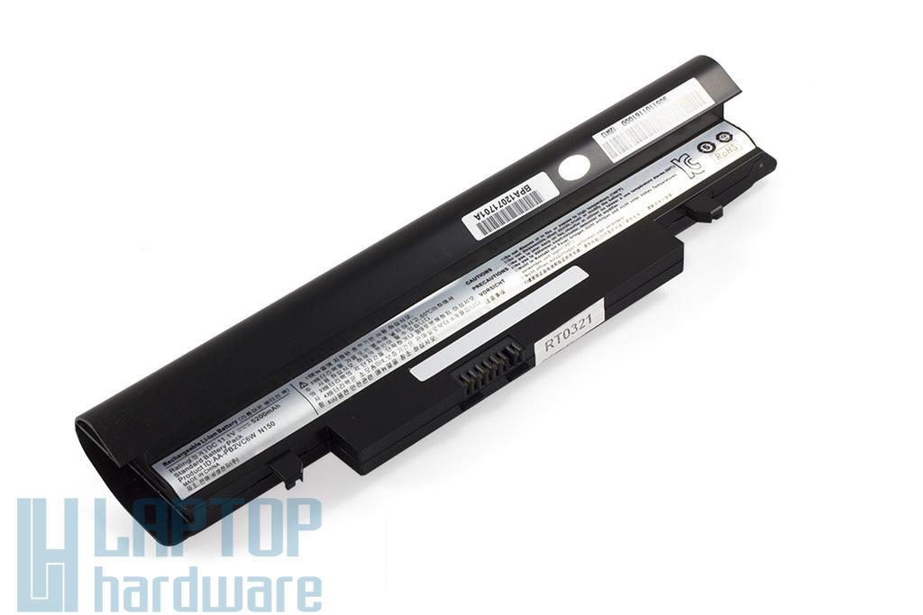 Samsung N148, N150, NP-N148, NP-150 helyettesítő új 6 cellás fekete laptop akku/akkumulátor (AA-PL2VC6B)